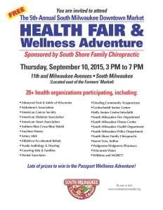 2015 SMDM Health Fair Flyer